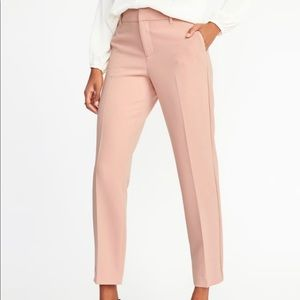 Old Navy blush tone Mid-Rise Harper Ankle Pants